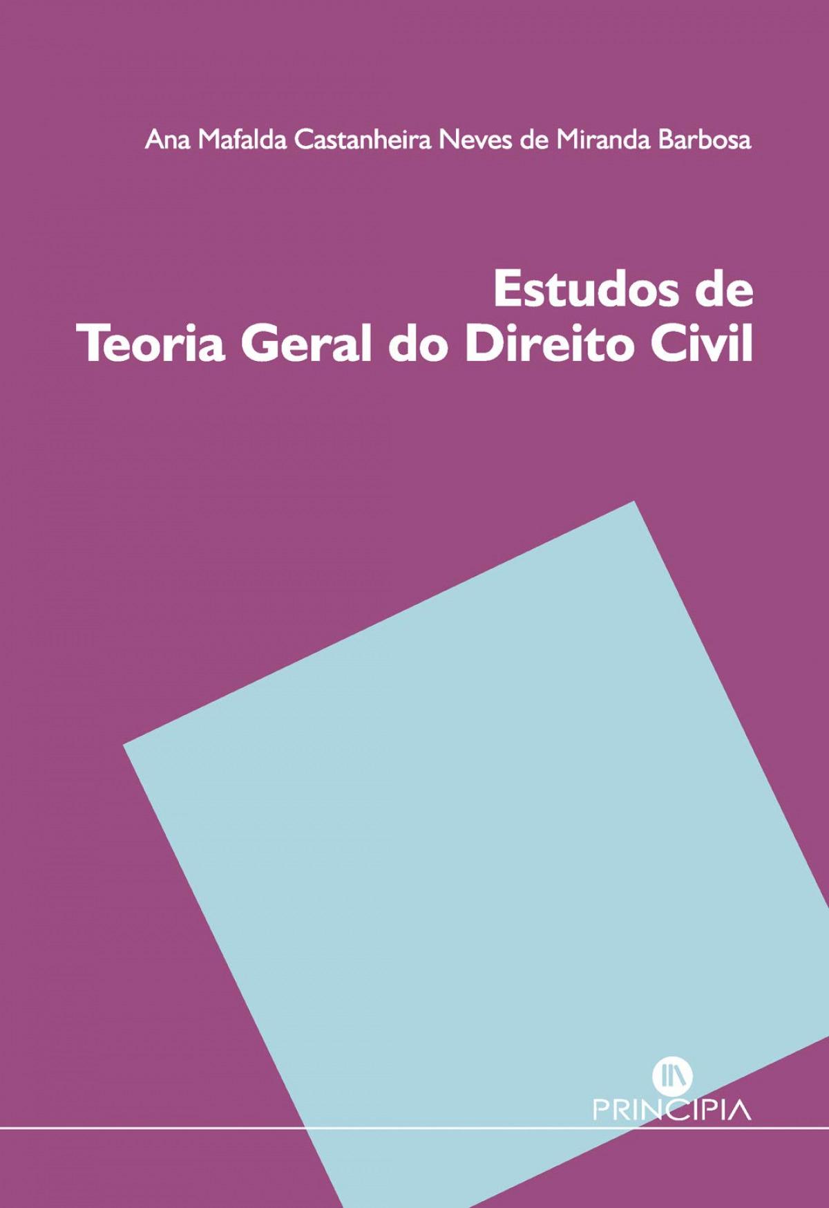 Estudos de Teoría Geral do Direito Civil 9789897161728