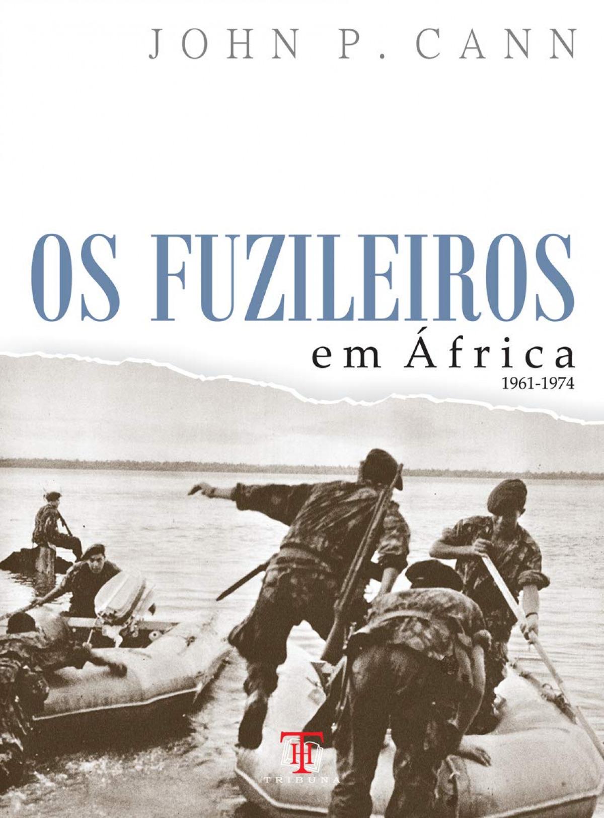 Os fuzileiros em África 9789898219534