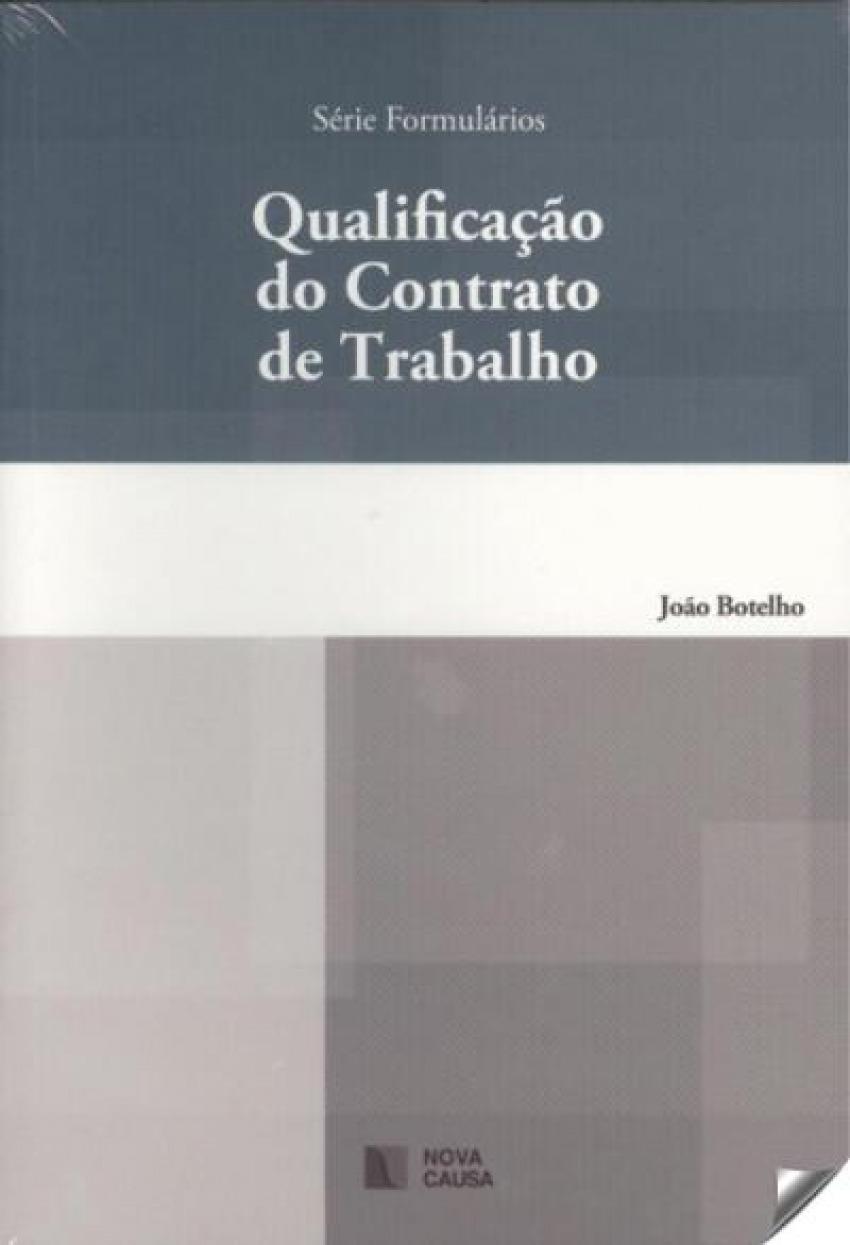 QUALIFICAÇAO DO CONTRATO DE TRABALHO 9789898515605