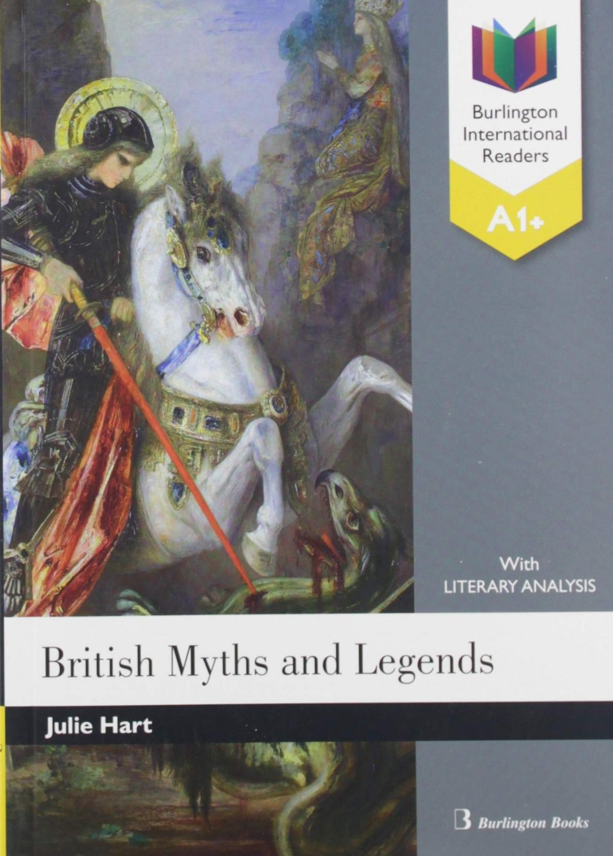 BRITISH MYTHS AND LEGENDS A1+ READER 9789925303502