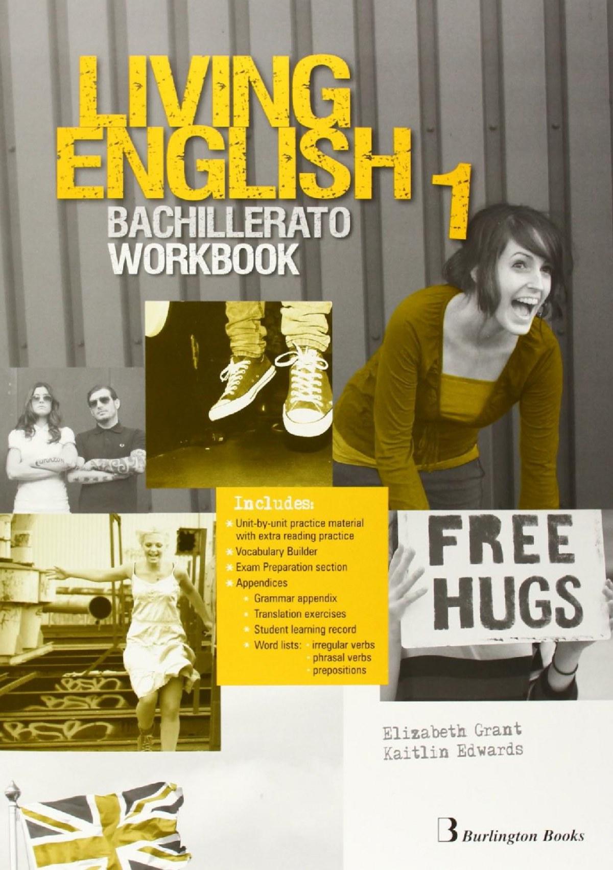Living english 1o..bach workbook 9789963489886