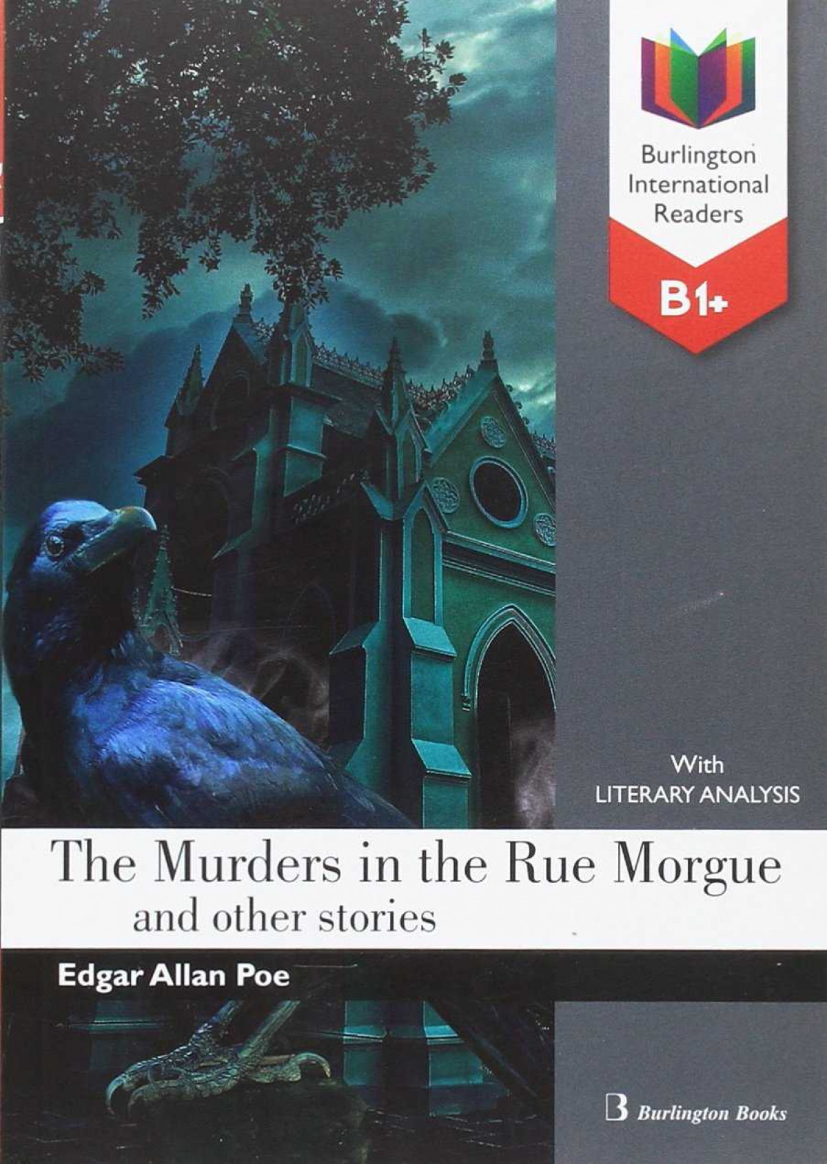murders in the rue morgue b1+ reader 9789963516094