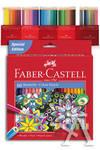 Estuche 60 lapices hexagonales colores surtidos faber-castell 4005401112600