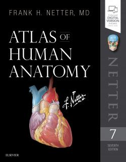 ATLAS OF HUMAN ANATOMY.(7TH EDITION) 9780323393225